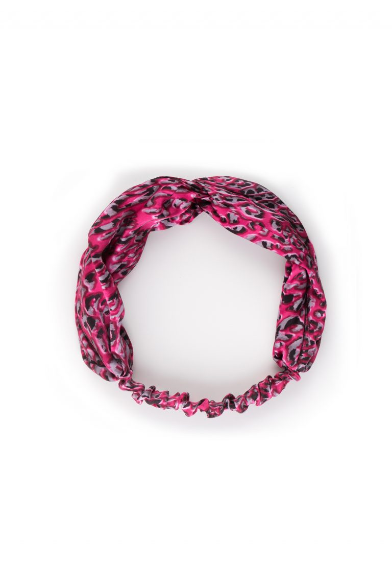 animalier silk headband