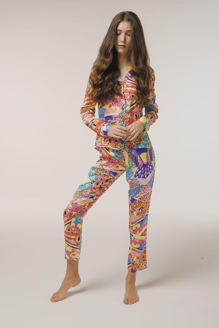 luxurious pajamas