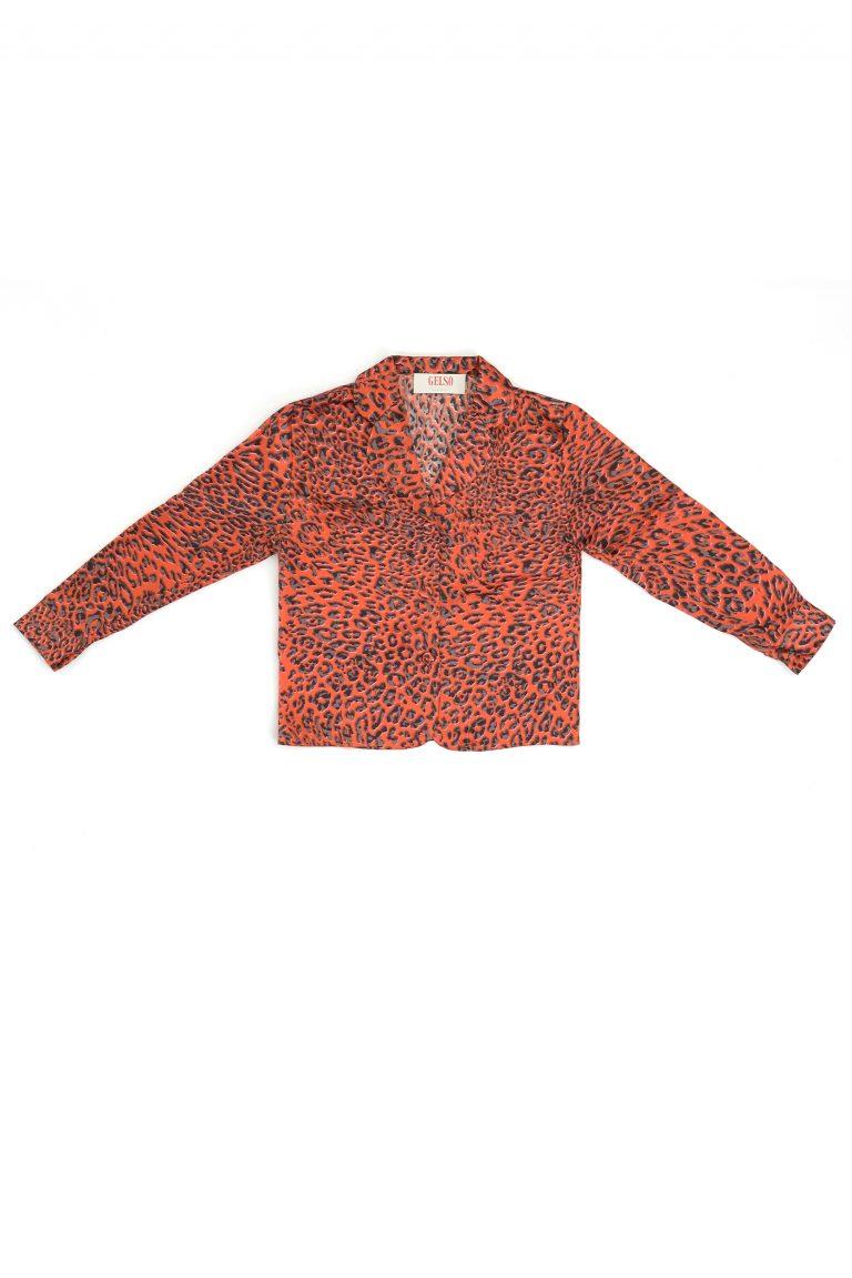 baby leopard pajamas