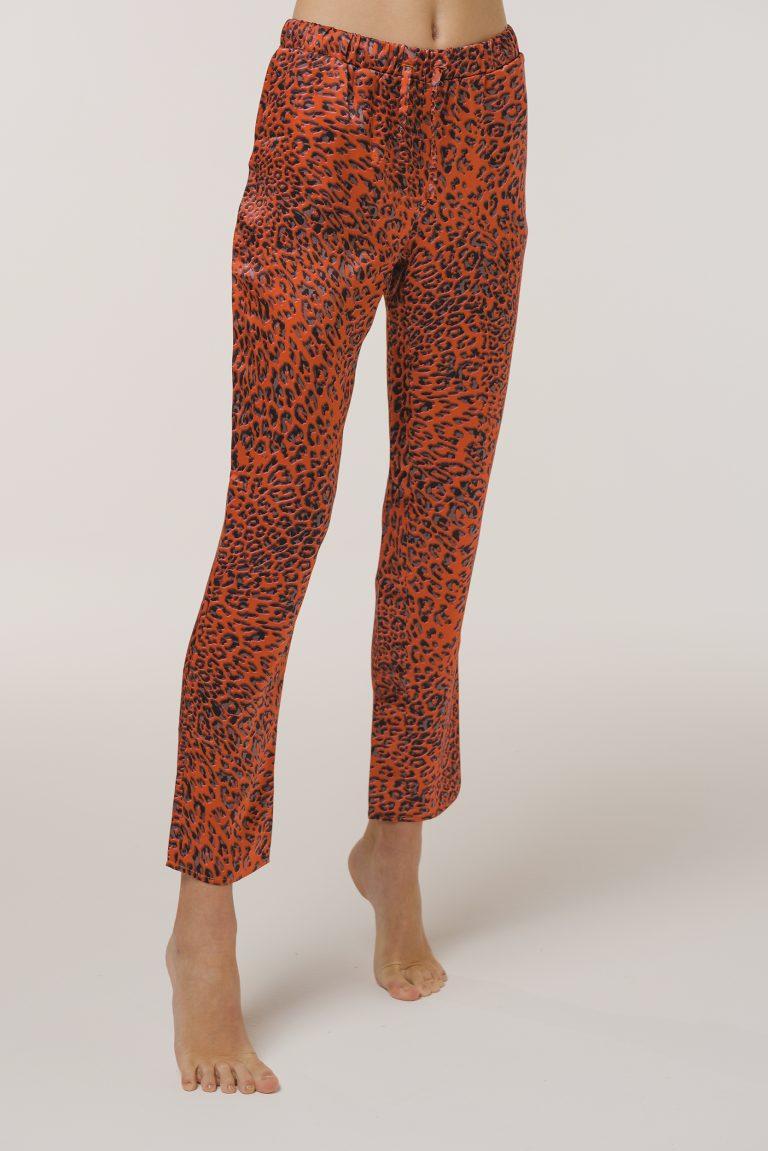 Pajamas Leopard Print