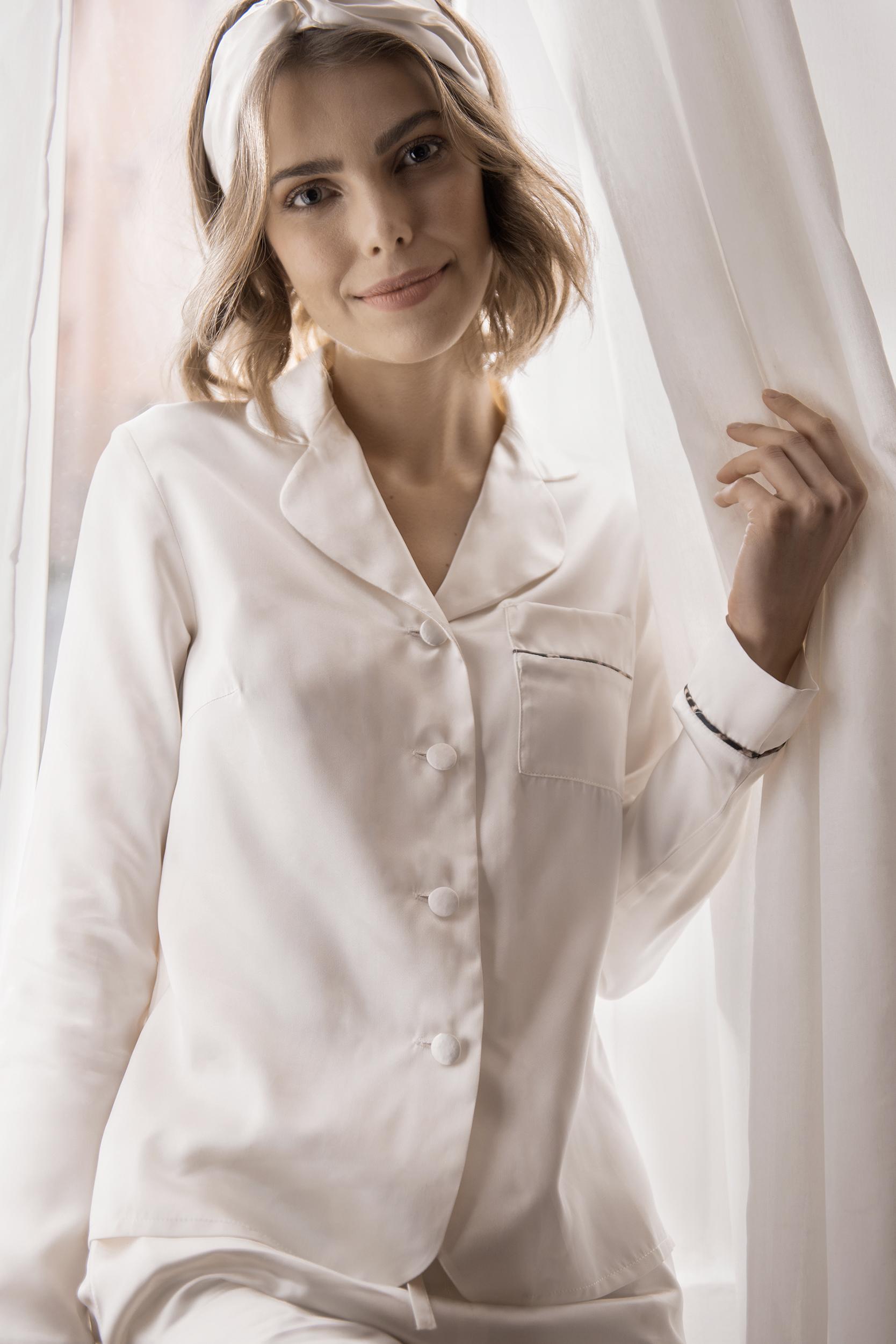 silk pajamas shirt