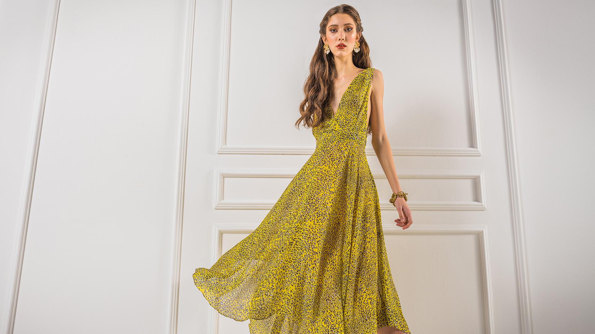 silk dress